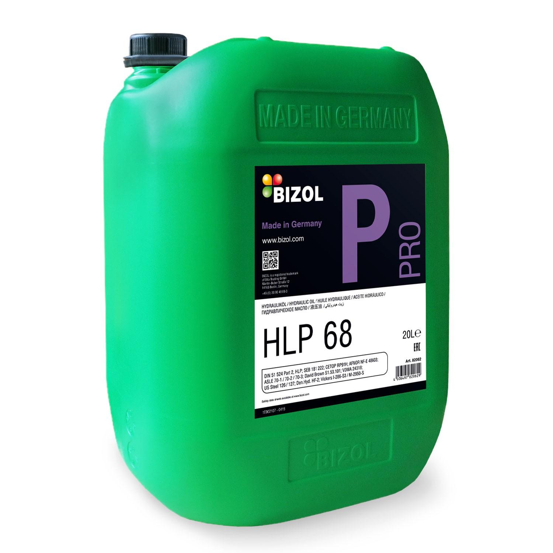 BIZOL Pro HLP 68 Hydraulic Oil_20L